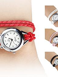 Женские аналоговые кварцевые часы-браслет (разные цвета)