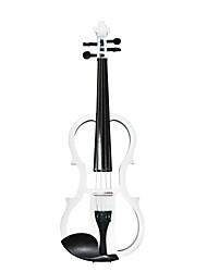 Cozart - (ML001) 4/4 parties jujube violon électrique avec étui / arc / résine / câble / batterie