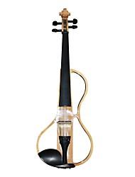 Cozart - (ml009) 4/4 parties jujube violon électrique avec étui / arc / résine / câble / batterie