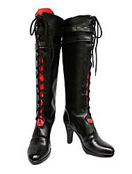 Cosplay Boots Inspired by Hetalia Prussia Gilbert Beilschmidt High Heels