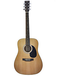 "Recording King - (RD-04) 41"" Solid Spruce Dreadnought Acoustic Guitar with Bag/Strap/Picks/Wrench"