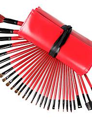 30 Pcs Lã Cosméticos escova escova de maquiagem
