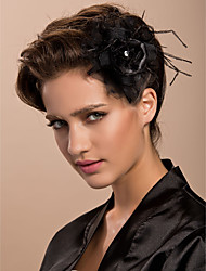 Women's Tulle Headpiece-Wedding / Special Occasion / Casual / Outdoor Fascinators / Birdcage Veils