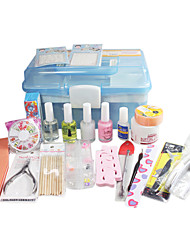 21 pcs Nail Art Et kits de protection In Box