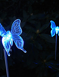 Solar Color Changing Butterfly Style Garden Stake Light