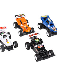 Racing Car Pull Back and Go Toys for Kids (4-Pack)