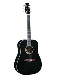 "Hawks 41"" Black Spruce Plywood Top Acoustic guitar"