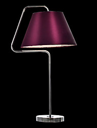 Modern Contracted Table Light in Purple Shade