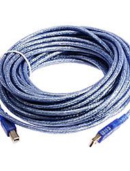128 usb2.0 h à câble de l'imprimante ab (10 m)