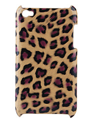 Leopard Print Hard Case for iPod Touch 4 (Brown)