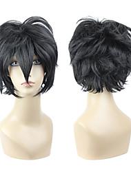 cosplay peluca inspirada en arcanos famiglia luca negro ver.