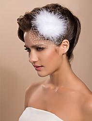 Women's Tulle Headpiece - Wedding/Special Occasion/Casual/Outdoor Fascinators
