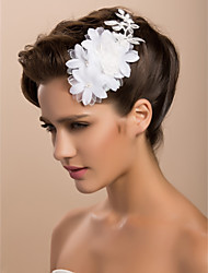 Women's Satin Lace Headpiece-Wedding Special Occasion Casual Outdoor Fascinators