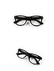 VINTAGE Large Size Black Glasses Frames