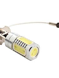 H3 600lm 7.5W 8000K 7000-Blanc Ampoule LED haute puissance pour les lampes de voiture (12V DC)
