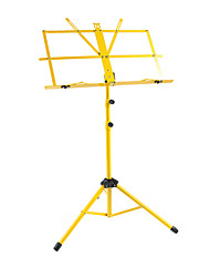 NG - (MS-YL) Yellow Folding Portable Music Stand with Bag