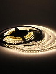5M 10W 600x3528 SMD Warm White Light LED Strip Lamp (DC 12V)