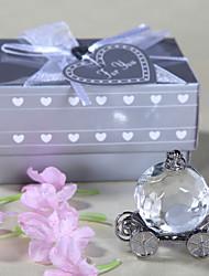 la dama de honor regalos de cristal de regalo de calabaza de Cenicienta entrenador recuerdo