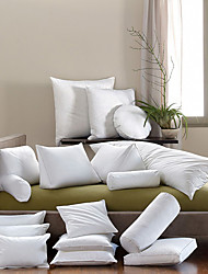 Cotton Pillow Insert , Solid Traditional