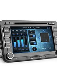 Android7-inch 2 Din TFT Screen In-Dash Car DVD Player For Volkswagen With Bluetooth,Navigation-Ready GPS,iPod-Input,RDS,3G(WCDMA),Wi-Fi,DVB-T