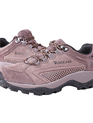 TOREAD Women's Outdoor Real Leather EVA Sole Shoes