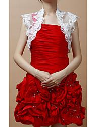 Party/Evening Lace Coats/Jackets Sleeveless Wedding  Wraps