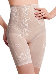 Chinlon High Waist Long Leg Shaper Brief Täglich Wear Shapewear