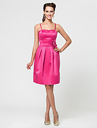 Wedding Party/Homecoming/Cocktail Party Dress - Fuchsia Apple/Hourglass/Inverted Triangle/Pear/Rectangle/Petite/Misses A-line/Princess