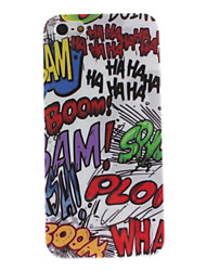 Graffiti-Design Hard Case für iPhone 5/5s