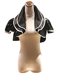 Party/Evening Satin Coats/Jackets Short Sleeve Wedding  Wraps