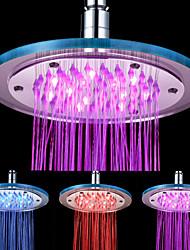8-de 12 polegadas LED-redonda Acrílico Chuveiro Teto (cores sortidas)