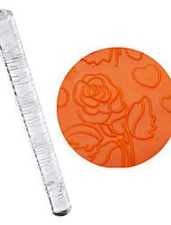 Acrílico rodillo Sweet Hearts and Style Roses para decoración de pasteles DIY (seleccionable Tamaño)