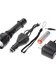 Small Sun ZY-A624 Rechargeable 3-Mode Cree XR-E Q5 LED Flashlight Set (1x18650)