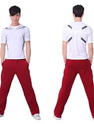 Hombres SiBoEn Yoga de la aptitud del entrenamiento se adapte a la ropa (camisas a 2 juegos de Yoga + Yoga Pants)