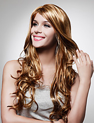 Capless Extra Long High Quality Synthetic Blonde Hair Wig