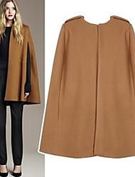 Lady Fashion Lapel Coat