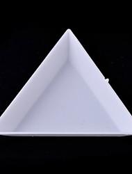 1pcs Autres Art triangulaire Nail Kit Box de stockage