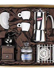 Coffee Series Boxed Gift (Moka & Siphon Pot, Grinder, Cups)T-511