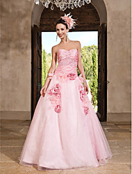 TS Couture® Prom / Formal Evening / Quinceanera / Sweet 16 Dress - Blushing Pink Plus Sizes / Petite Princess / A-line / Ball GownSweetheart /
