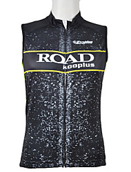 Kooplus 100% Polyester Cycling Vest (Yellow)