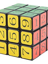 CT Sudoku 3x3x3 cerveau I Teaser IQ Cube Puzzle Magic (Noir)