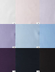 100% Cotton Woven Yarn-Dyed Plain Sateen By The Yard (Many Colors)