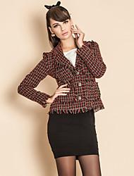 TS Check Tweed Jacket