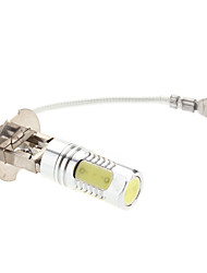 h3 8W 450-500lm valkoista valoa johtanut lamppu auton sumuvalo (12v)