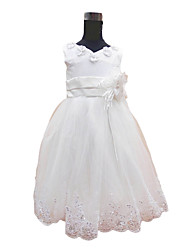 Lovely A-line Princess Tulle Flower Girl Dress