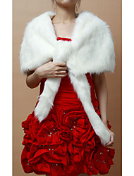 Wedding / Party/Evening Faux Fur Shawls Sleeveless