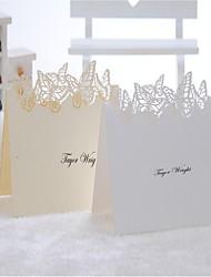 lugar tarjetas y titulares diseño precioso de la mariposa tarjeta del lugar - conjunto de 12 (más colores)