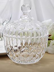 Table Centerpieces Personalized Simple Design Glass Storage Jar  Table Deocrations