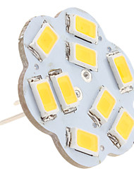 4.5W G4 LED à Double Broches 9 SMD 5630 430 lm Blanc Chaud DC 12 V