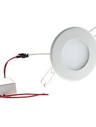 6W 650-700LM 6000-6500K Natürliche White Light Round LED-Deckenleuchte Lampe (85-265V)